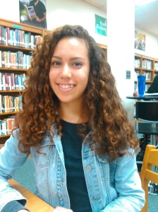 """""""Art is my little scape from reality.""""-Andrea Ramirez, '17"""