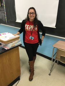 """I love how everyone are friends with everyone."" -Ms. Psillos, Staff"