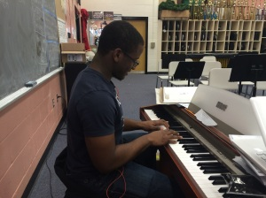 """""""I love music because when words can't resonate with me, music always does. Perhaps that's why I can genuinely smile every day, regardless of whatever troubles I may encounter in life."""" - Solomon Ulysses '16"""
