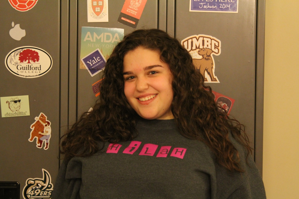 """""""My favorite teacher is Mr. Foy because he taught me how to be more confident, organized, and manage my time wisely."""" -Aliya Smelkinson, '17"""