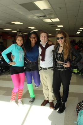 Grace Chaverini, Sofeeyah Lloyd, Taylor Myers, and Brynn Rhodes (Juniors)