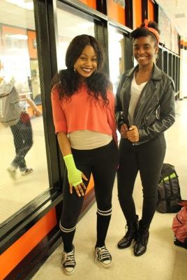 Andrea Onukwugha and Ashara Wilson