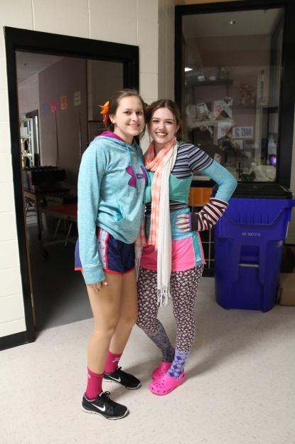 Alyriana Ivey and Rachel Sneed (Seniors)