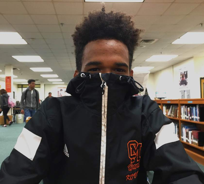 """""""[What I enjoy most about Oakland Mills is] the spirit. Everyone's so proud of their school. That's what I'm gonna miss the most when I go to college."""""""